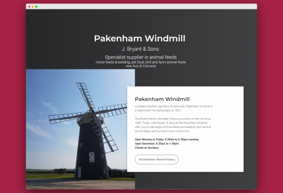 Pakenhamwindmill.co.uk